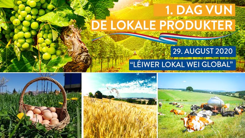 1. Dag vun de lokale Produkter - 29. August 2020